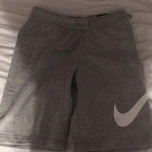 Grey Nike shorts, brand new